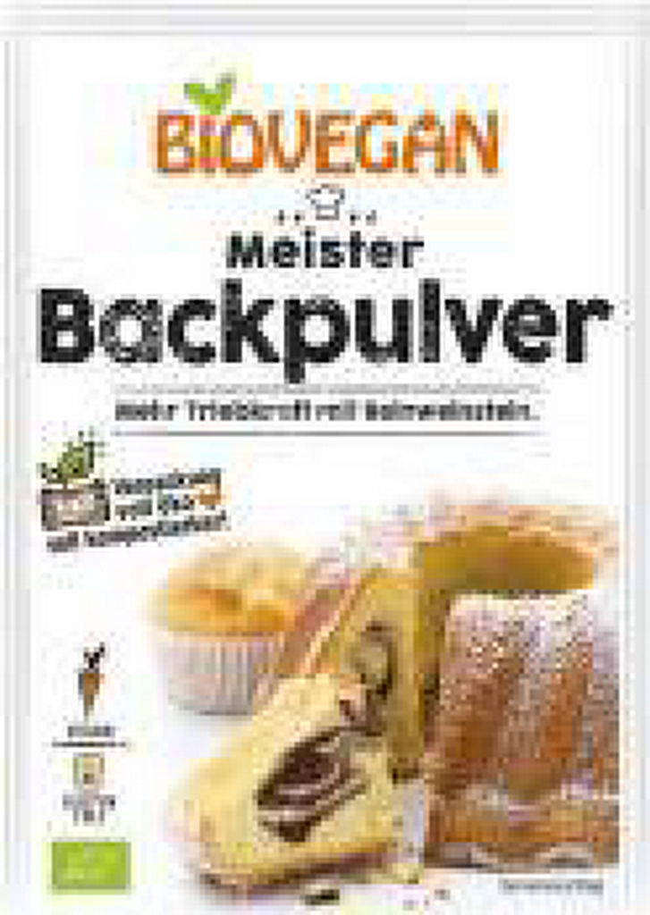 Pecilni prašek Bio, Biovegan, 4x17g