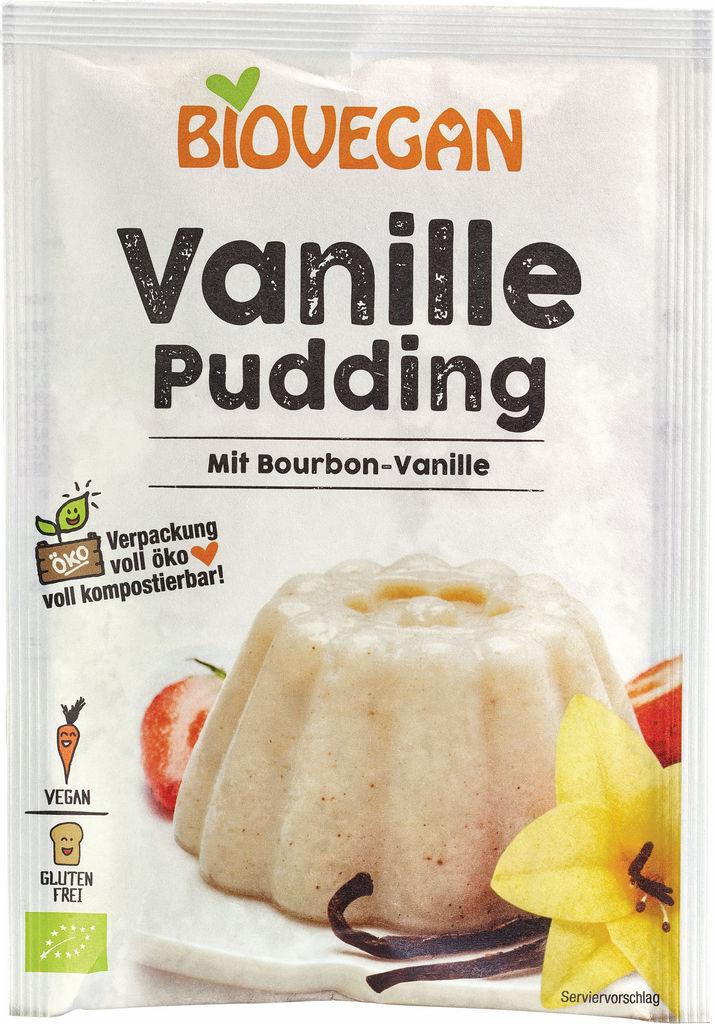 Puding Bio vanilija, veganski,  33 g
