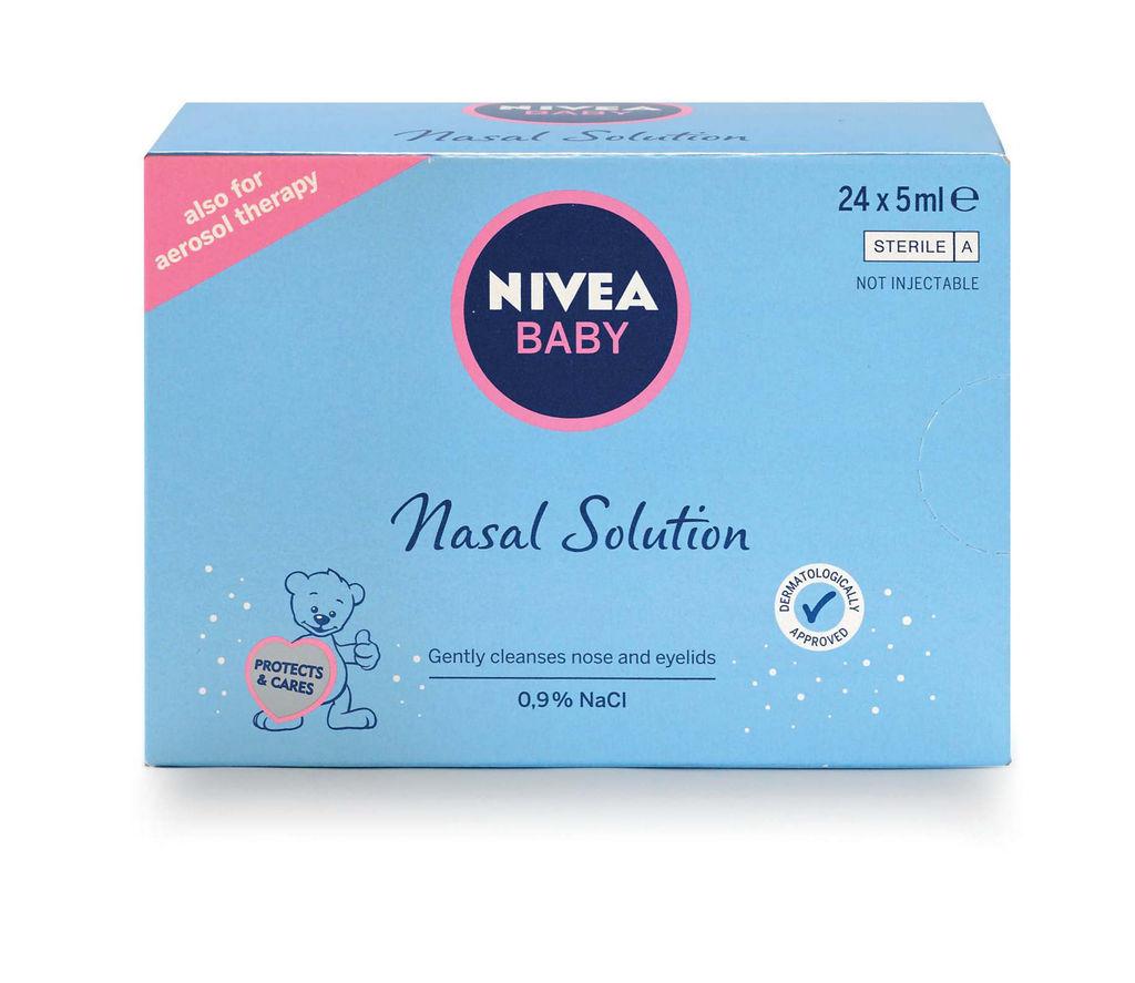 Raztopina Nivea, za nos, 24x5ml