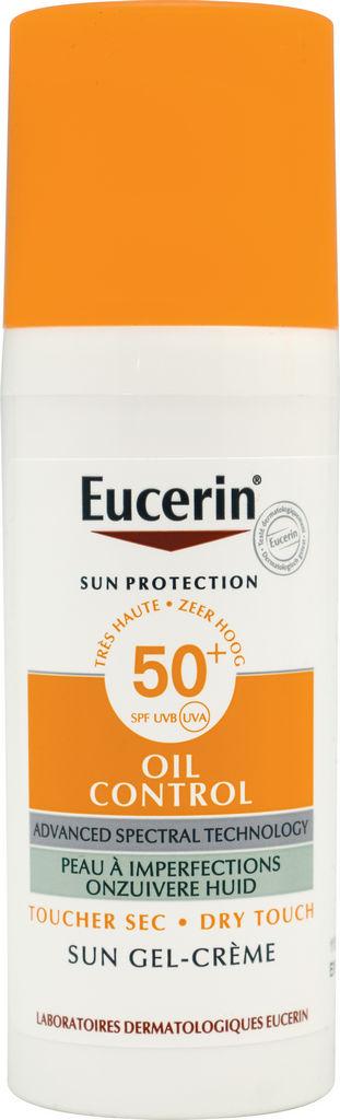 Krema Eucerin, Oil Control, za obraz, SPF50, 50 ml