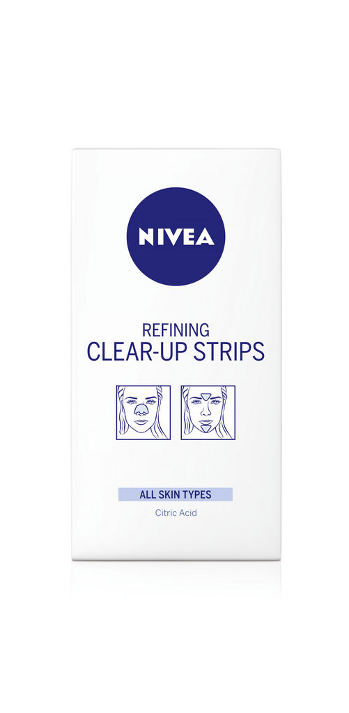 Čistilni strip Nivea, za pore, 6/1