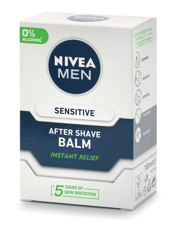 Balzam po britju Nivea Sensitive, 100ml