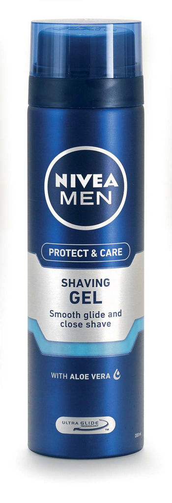 Gel za britje Nivea For men, mild, 200ml