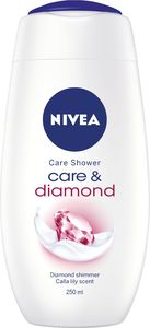 Gel za prhanje Nivea, Diamond touch, 250ml