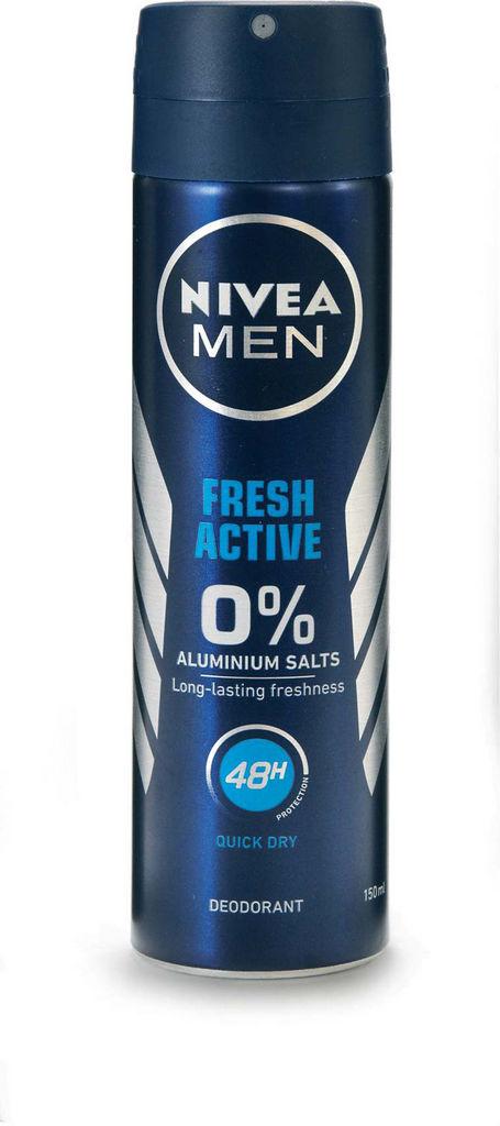 Dezodorant sprey Nivea, men,f.active,150ml
