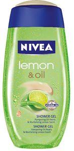 Gel za prhanje Nivea, Lemongrass&Oil, 250ml