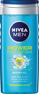 Gel za prhanje Nivea, power refresh, 250ml