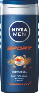 Gel za prhanje Nivea, Men Sport, 250ml