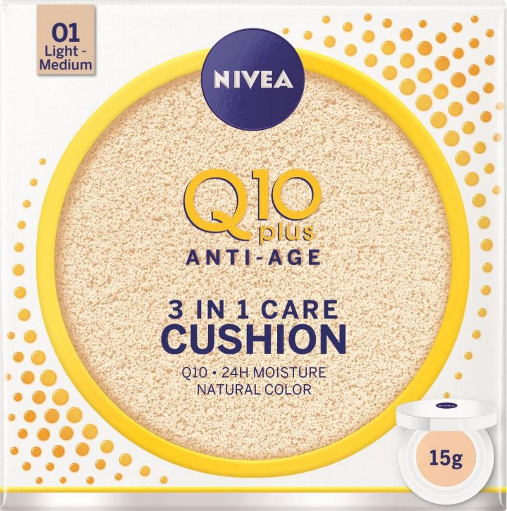 Krema Nivea NFC Q10 cushion svetel/srednji odtenek, 15g
