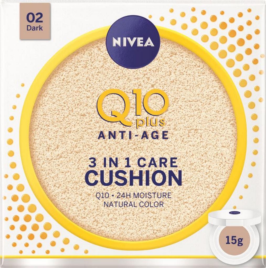 Krema Nivea NFC Q10 cushion temni odtenek, 15g