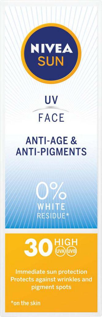 Krema Nivea Sun, anti age&anti pigment, ZF 30, 50ml