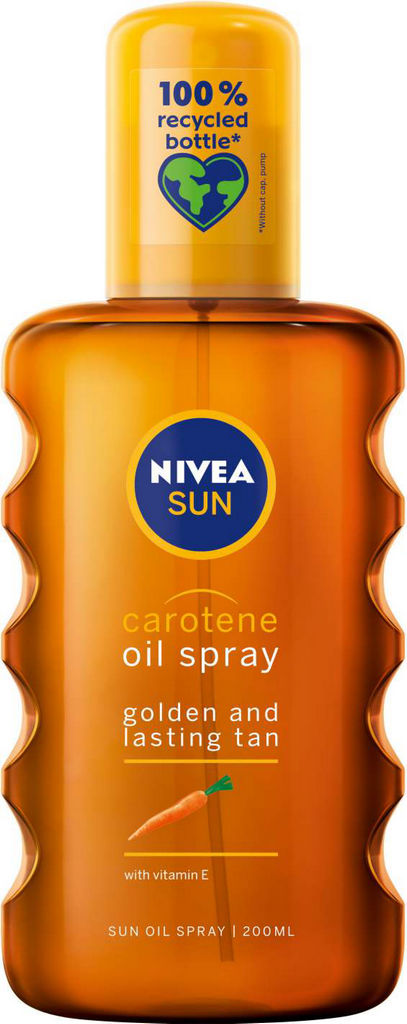 Olje Nivea Sun s karotenom, BF, 200ml