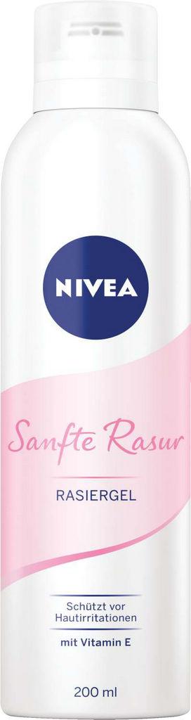 Gel Nivea za britje, Protect&Shave, ženski, 200ml
