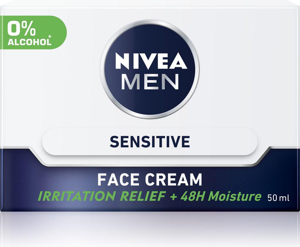Krema Nivea men, Sensitive, 50ml