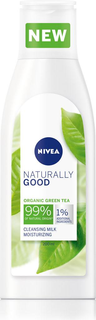 Mleko čistilno za obraz Nivea naturally good, 200ml