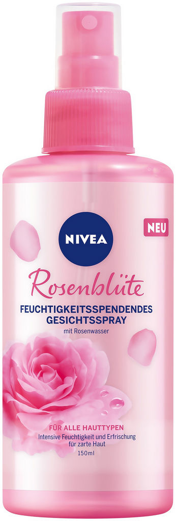 Tonik Nivea v spreju, Rose touch, 150 ml