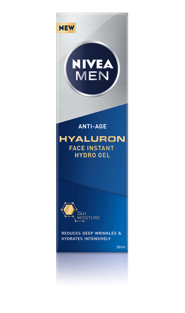 Gel Nivea men, Hyaluron Active Age, 50 ml
