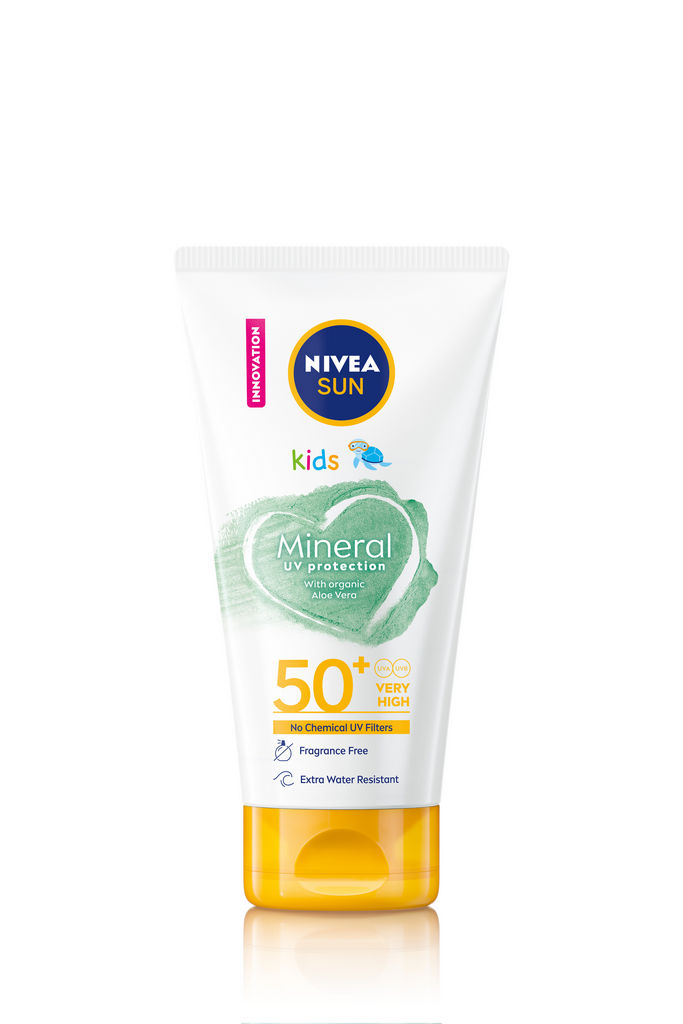 Nivea sun lotion, otroški, mineral, ZF50+, 150 ml