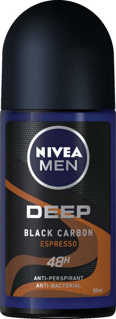 Roll-on Nivea men, Deep brown, 50ml