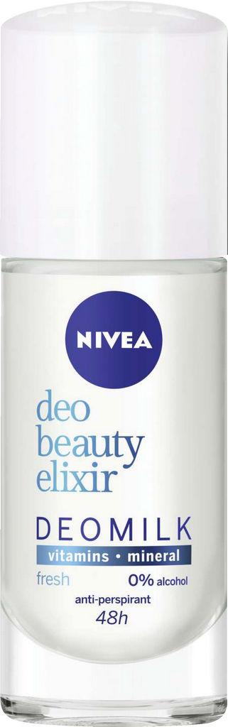Dezodorant roll-on Nivea Beauty Eliksir Fresh, 40ml