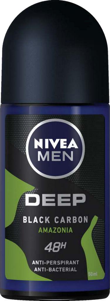 Roll-on Nivea men, Deep green, 50ml