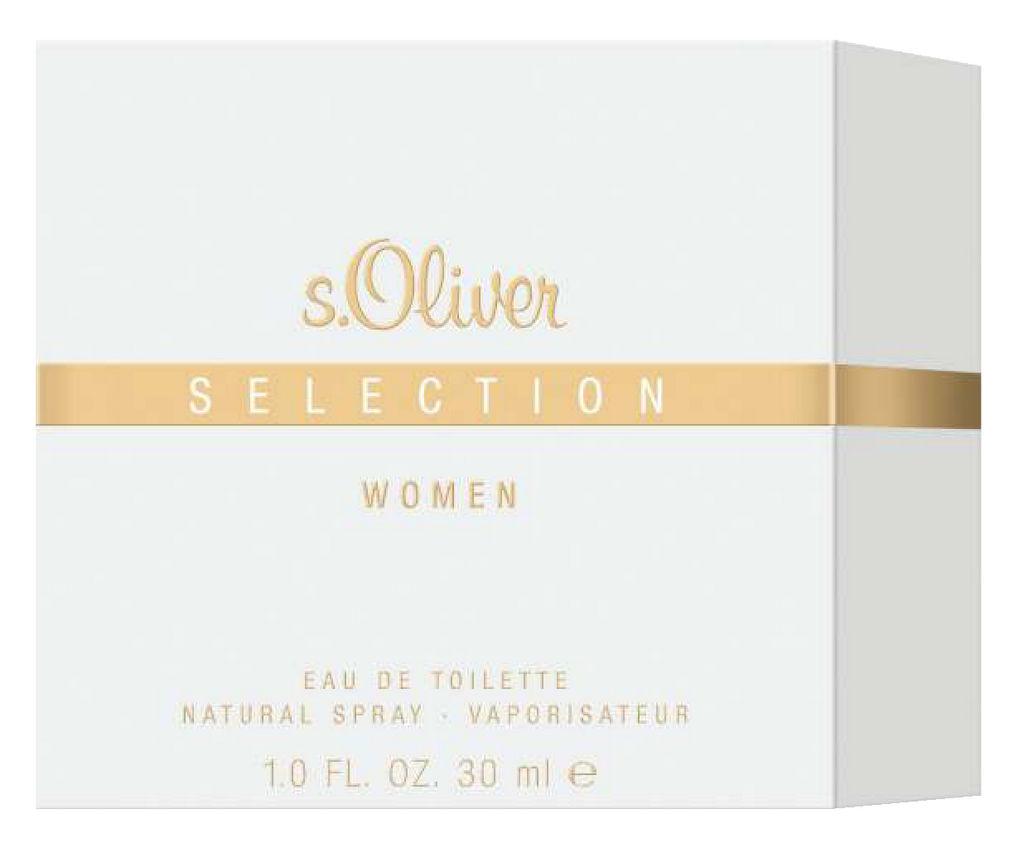 Toaletna voda s.Oliver, Selection, Women, 30 ml