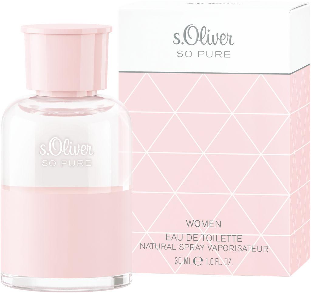 Toaletna voda S.Oliver so pure, ženski, 30 ml