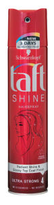 Lak za lase Taft, Shine, 250 ml