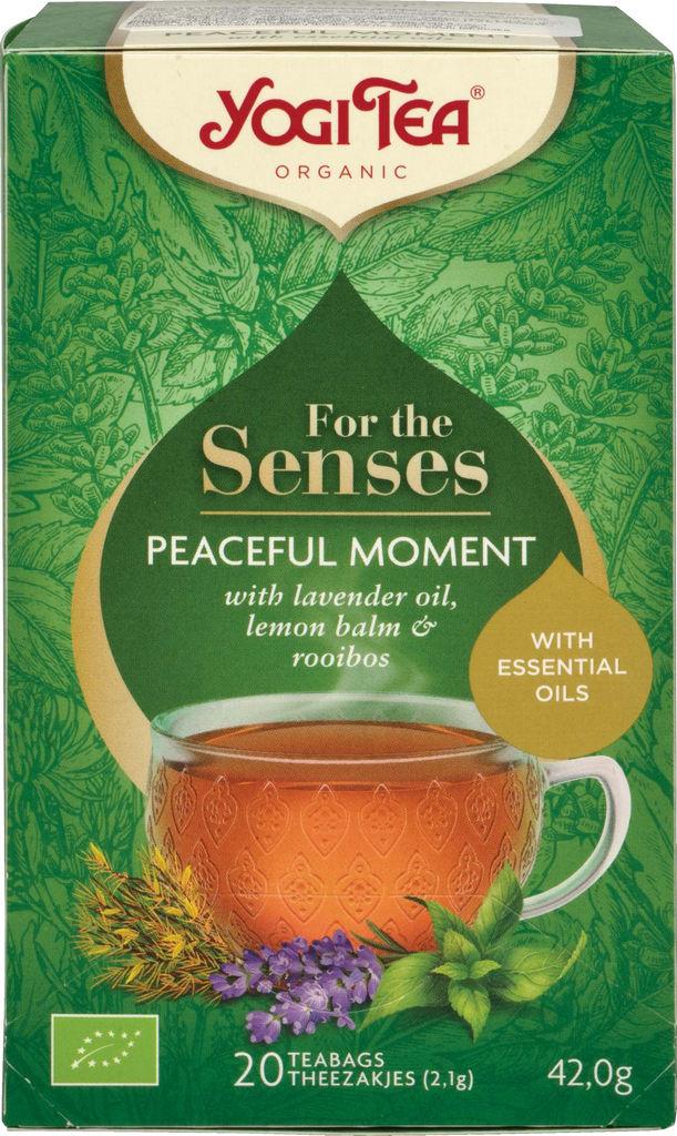 Čaj Bio Yogi, Senses čas miru 42 g