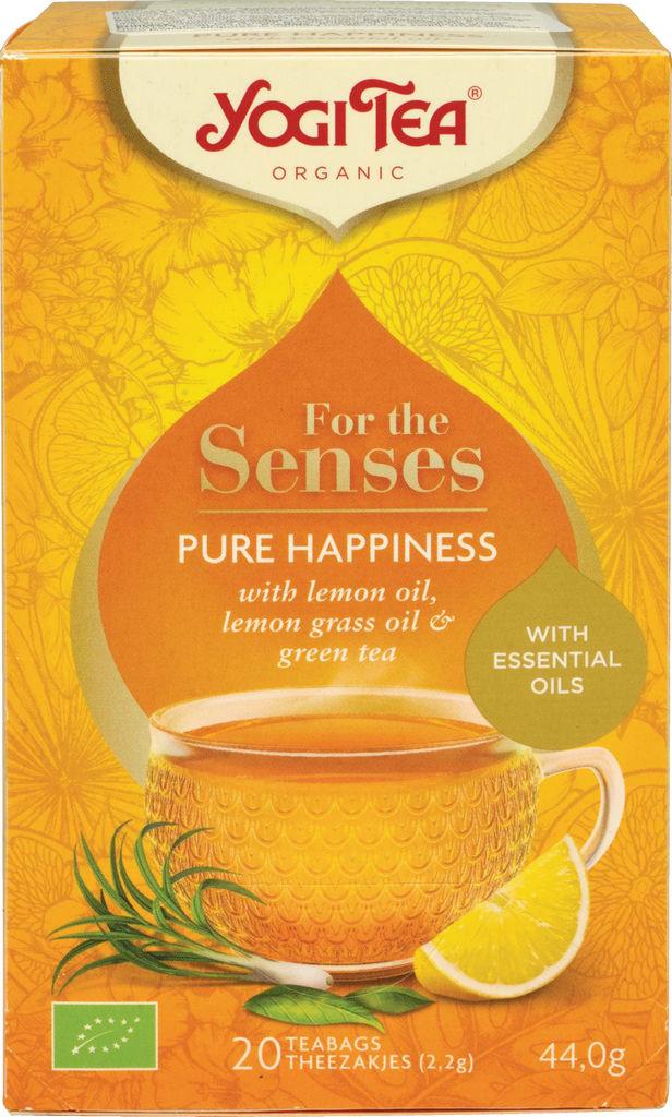 Čaj Bio Yogi, Senses čista sreča, 42 g