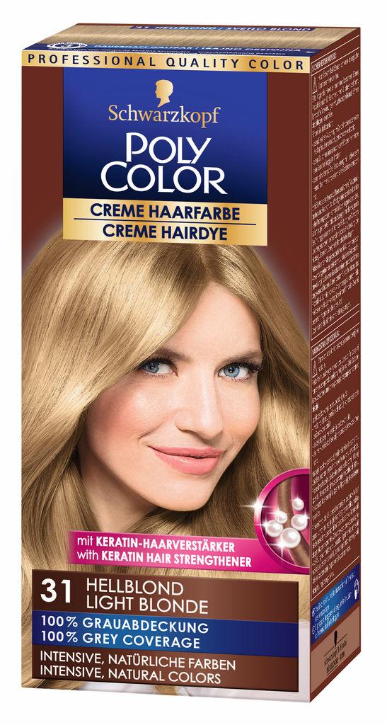 Barva za lase Poly Color, 31, svetlo blond