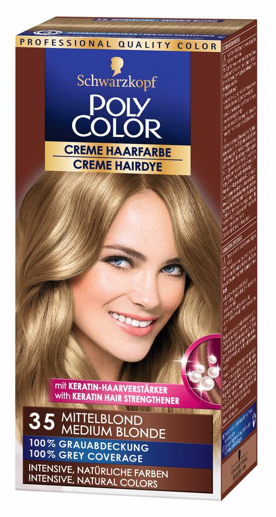 Barva za lase Poly Color, 35, srednje blond