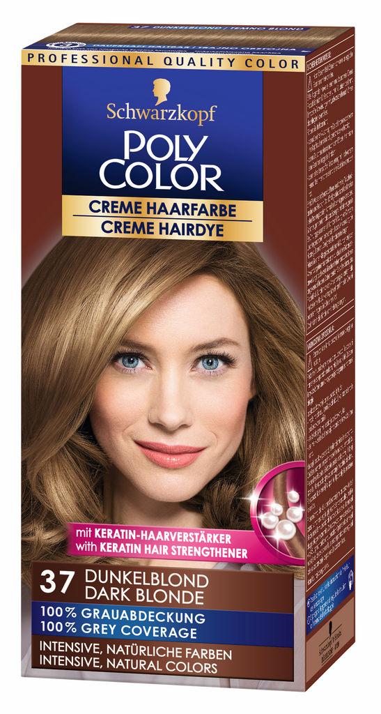 Barva Poly Color, 37, temno modra
