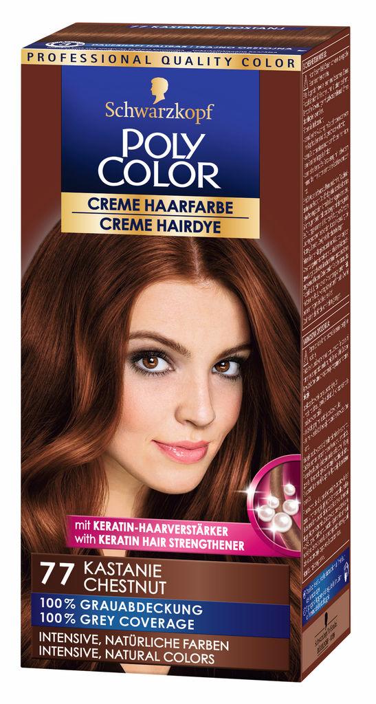 Barva za lase Poly Color, 77, kostanj