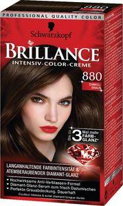 Barva za lase Schwarzkopf, Brillance 880, temno rjava