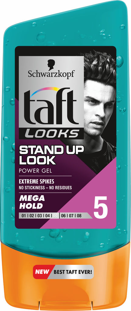 Gel za lase Taft Looks, stand up look, 150ml