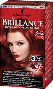 Barva za lase Schwarzkopf, Brillance 842, kašmir rdeča