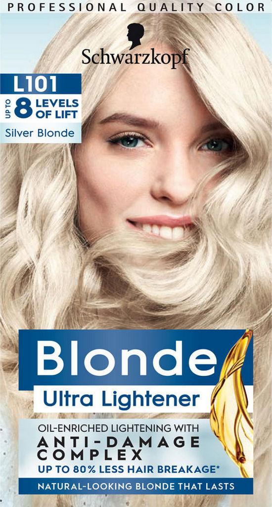 Barva za lase Schwarzkopf, L101 Silver Blond