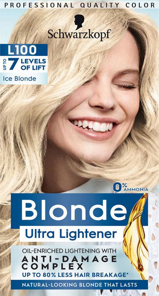 Barva za lase Schwarzkopf, L100 Ice Blonde