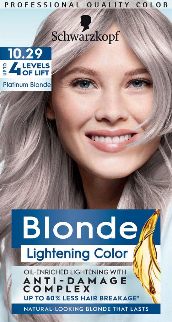 Barva za lase Schwarzkopf, 10 – 29 Platinum Blonde