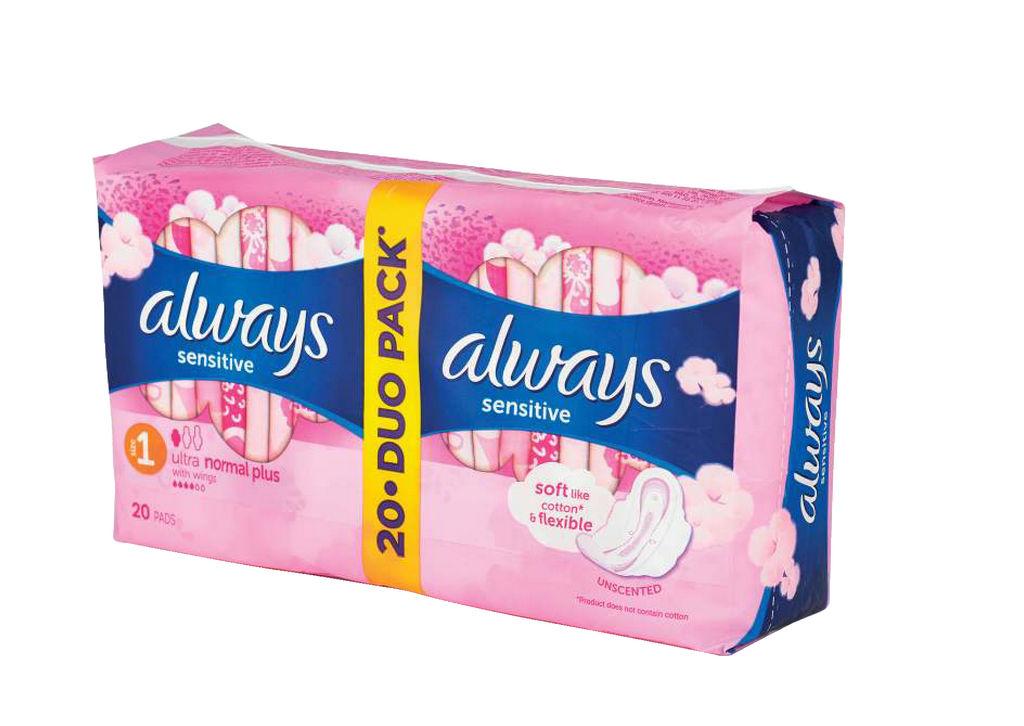 Higienski vložki Always u.sens.duo,2×10