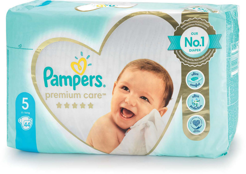 Plenice Pampers, Premium c., št. 5, 44/1