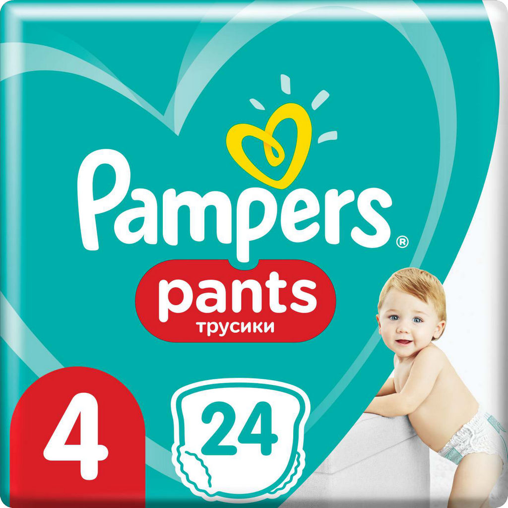 Pampers hlačne plenice Active baby, S4, 24/1