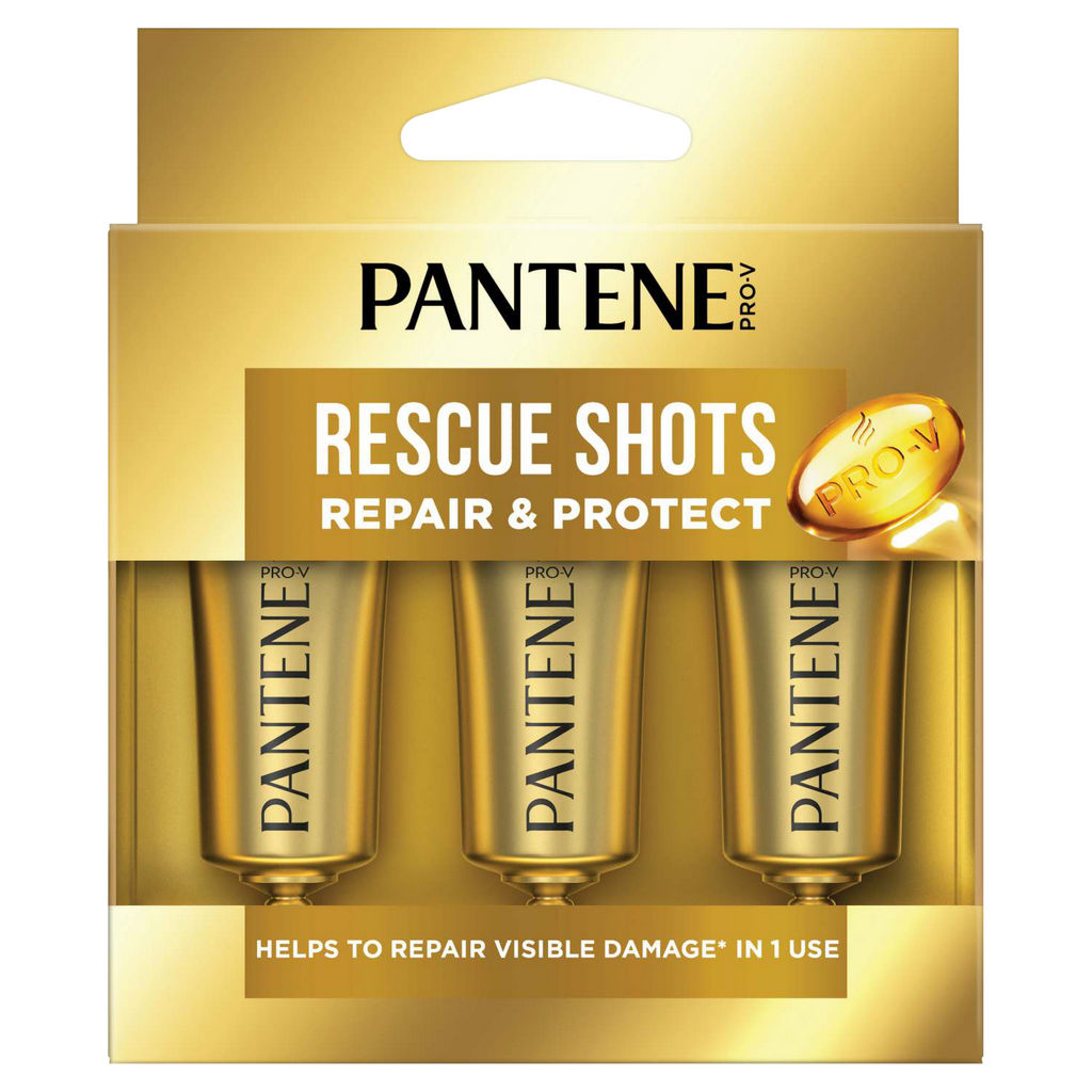 Ampule za lase Pantene, Shots Repair & protect, 3x15ml