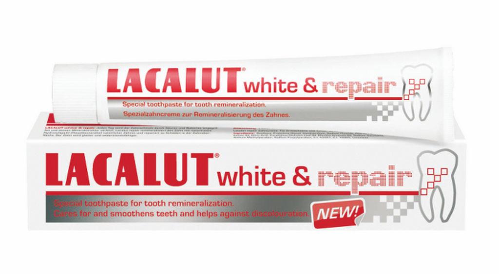 Zobna pasta Lacalut, White&Repair, 75ml