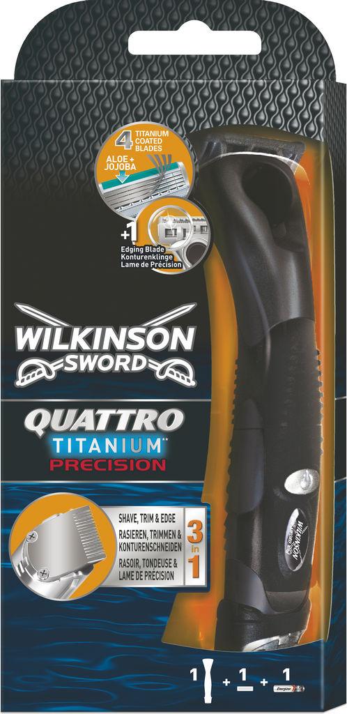 Brivnik Wilkinson Quatro titanum precision