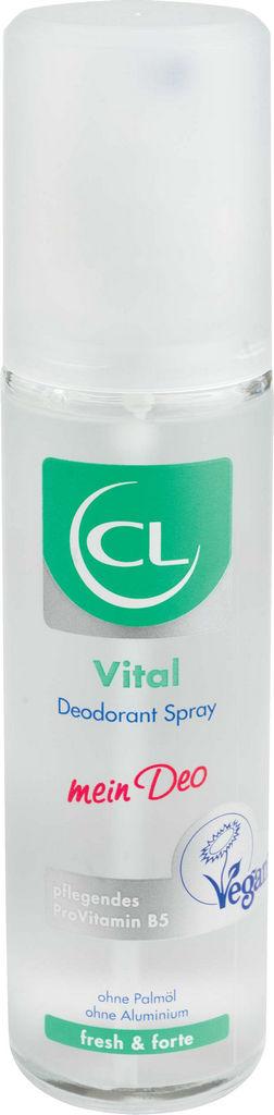 Dezodorant sprej CL Vital Fresh & Forte, ženski, deo brez plina, 75 ml