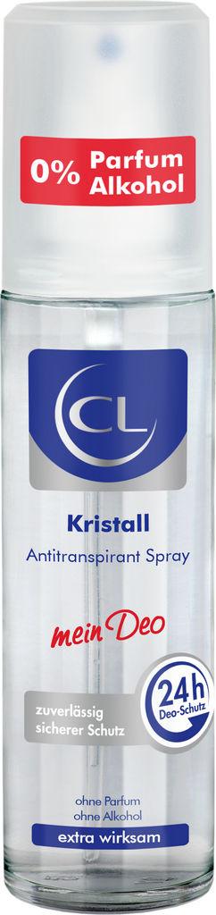Dezodorant sprej CL kristal mineral brez plina 75ml