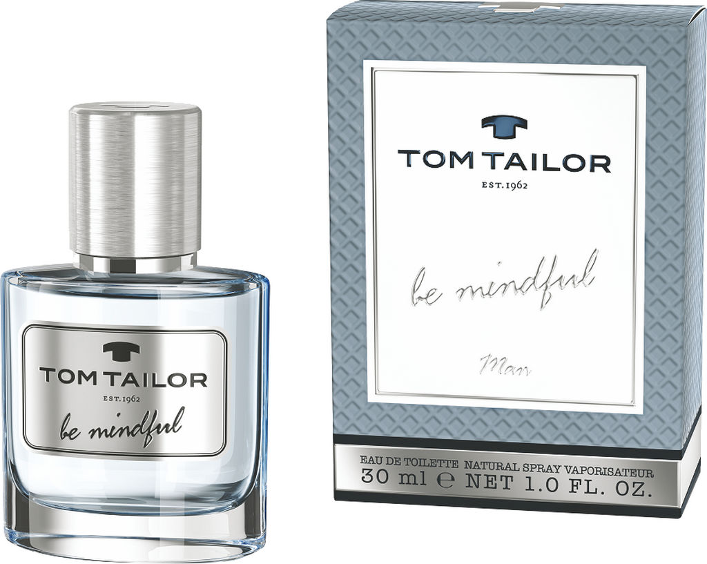 Toal.voda Tom Tailor, man, Be Mindful, 30ml