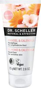 Krema za roke Dr.Scheller, mandelj & ognjič, 75 ml